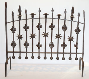 Wonderwall Iron Fireplace Screen stand