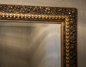 Antique Floral Burnished Gold Mirror by Wonderwall Home Decor and Fine Furnishings