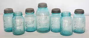 Wonderwall - Turquoise Ball Jars