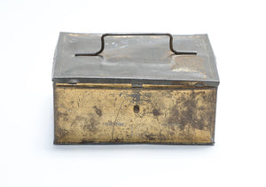 Wonderwall - Small Gold Colored Metal Box