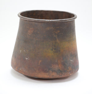 Large Rusted Copper Pot from Wonderwall Home Decor