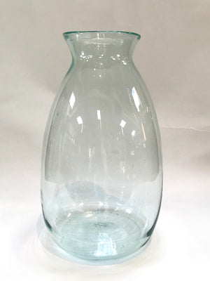 Tall Slender Hand Blown Artisan Vase from Wonderwall Home Decor and FIne Furnishings