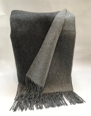 Cashmere Double Faced Throw from Wonderwall Home Decor and Fine Furnishings