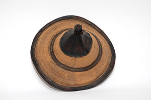 African Straw Hat from Wonderwall Home Decor