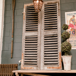 Wonderwall 19th Century Belgium Shutters (pair)