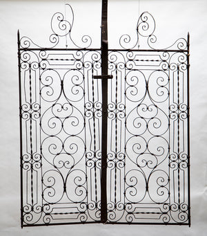 Pair of Catalina Iron Garden Gates from Wonderwall Home Decor and Fine Furnishings