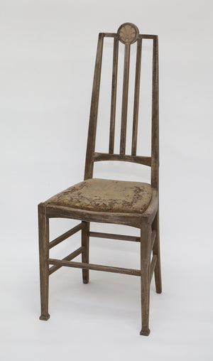 Decorative Side Chair with Brass Inlay from Wonderwall Home Decor and Fine Furnishings