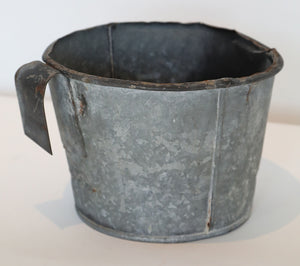 Wonderwall Galvanized Buckets farm tool for orchard ladder