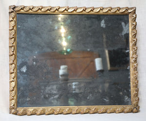 Wonderwall Gilded wood framed antique mirror