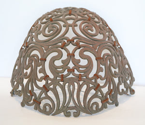 Wonderwall Solid Bronze Spanish Revival light cages