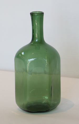 Wonderwall Old Hand Blown Green Demijohn