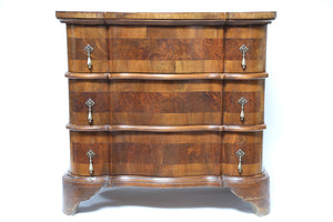 Three Drawer Serpentine Dresser from Wonderwall Home Decor
