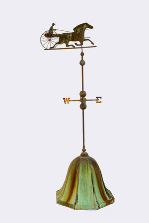 Wonderwall St. Julien Molded Copper Weather Vane