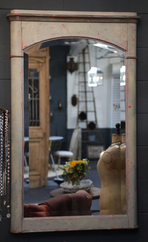 Wonderwall Chic French Distressed Mirror