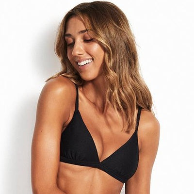 Triangle Essentials Noir - Seafolly - MISS-SEA