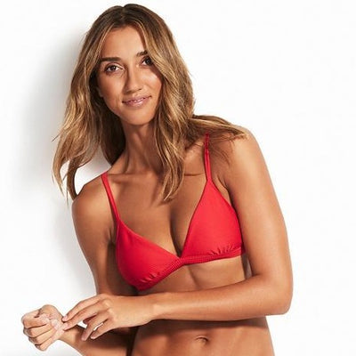 Triangle Essentials Chilli rouge - Seafolly - MISS-SEA