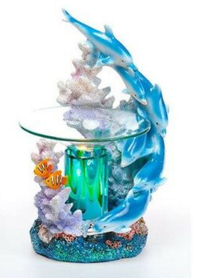 Dolphins Coral Reef Aroma Lamp