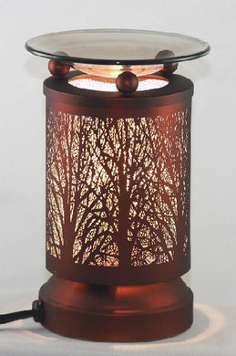 Trees in Woods Aroma Touch Lamp