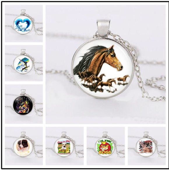 Necklace Animal Pendant