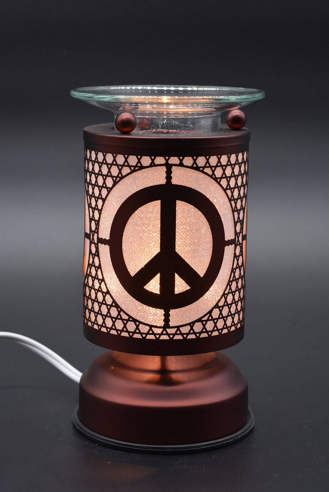 Peace Sign Aroma Lamp