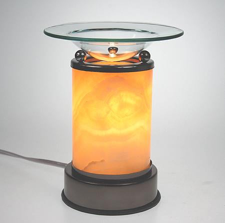 Smooth Salt Rock Aroma Lamp