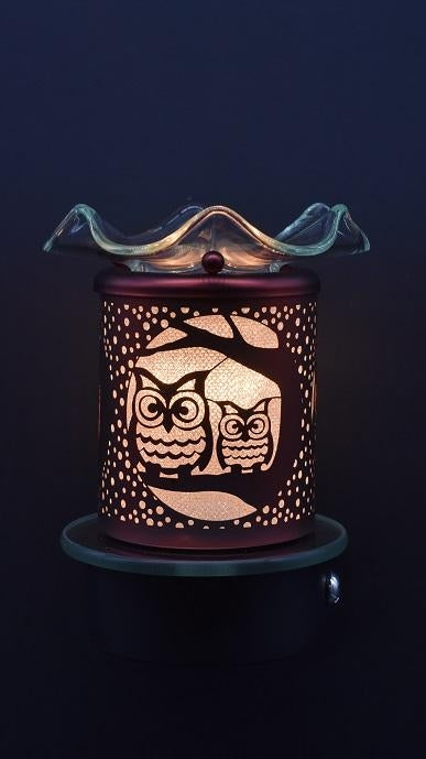 Owl Plug-In Nightlight Oil/Wax Warmer Aroma Lamp