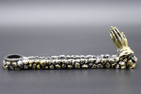 Praying Hands Incense Holder