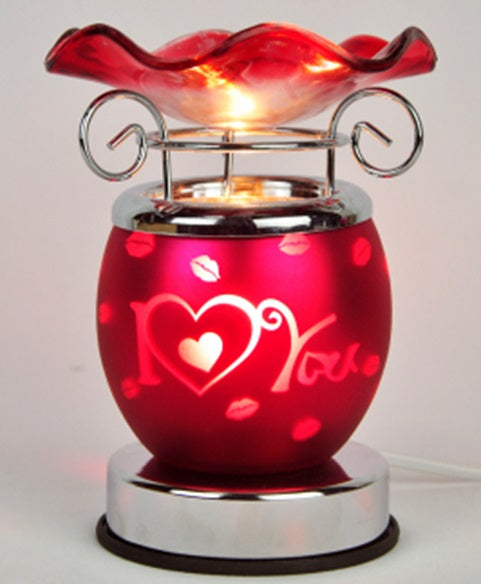 I Love You Aroma Lamp