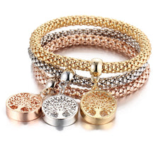 Load image into Gallery viewer, Gold/Silver Bracelet with Pendant Sets (Multiple Options)