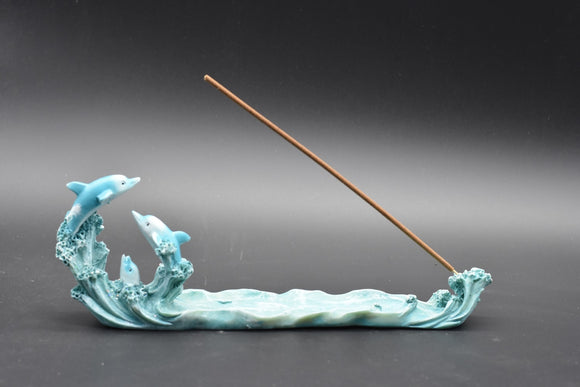 Dolphins Incense Holder