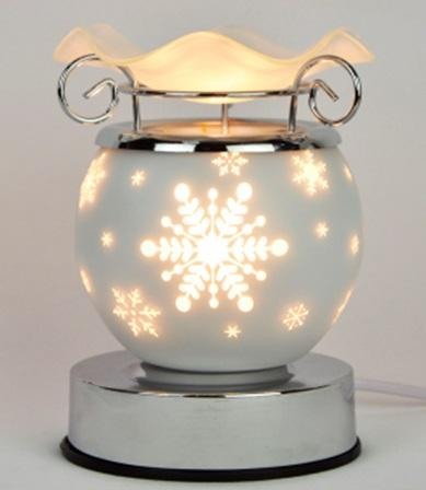 Snowflakes Aroma Touch Lamp