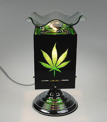 Green Leaf Touch Aroma Lamp