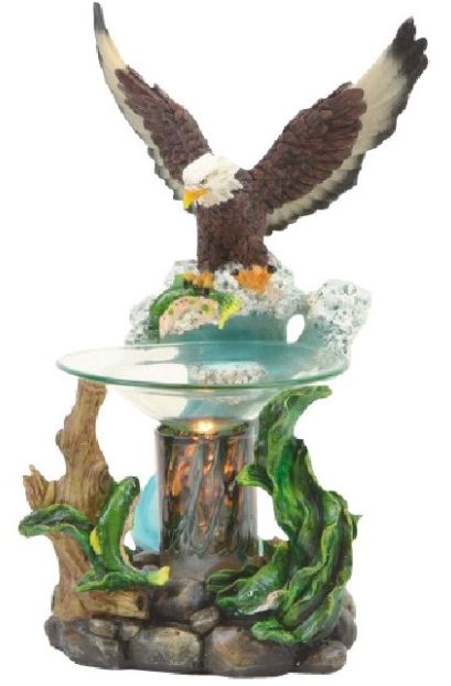 Flying Bald Eagle Aroma Lamp