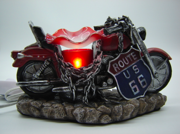 Motorcycle Table Aroma Lamp