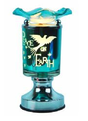Peace On Earth Fragrance Aroma Touch Lamp