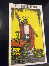 Load image into Gallery viewer, The rider tarot the magician mini deck
