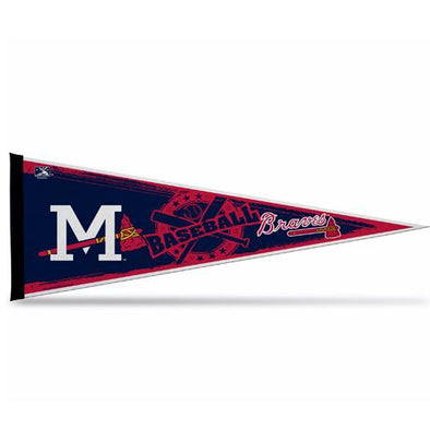 Mississippi Braves Custom Pennant
