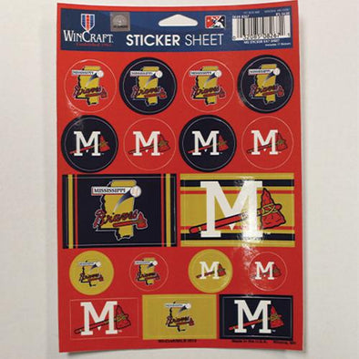 Mississippi Braves Sticker Sheet