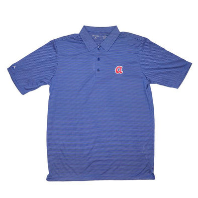 "Striped Blue ""Cooperstown"" Quest Polo"