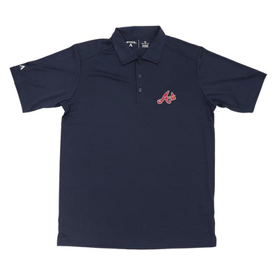 Atlanta Braves Antigua Navy Polo Alternate A Logo