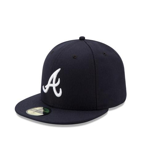 Mississippi Braves Authentic On Field 5950 Road Game Cap from New Era