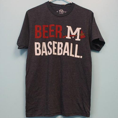 Mississippi Braves Beer Baseball Tee