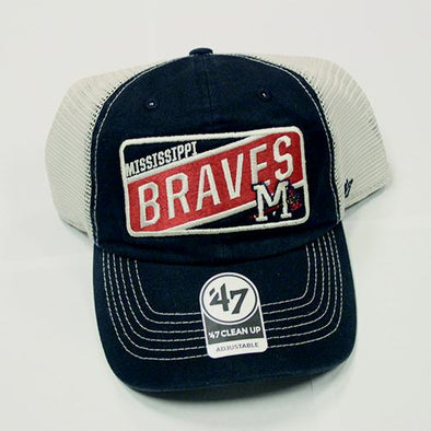 Mississippi Braves Bulletin Cap Logo Cleanup