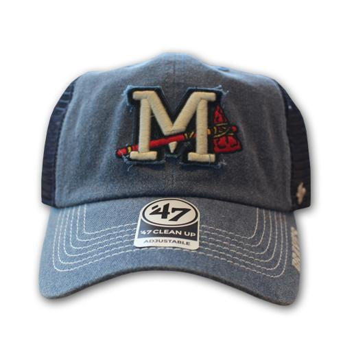 Mississippi Braves Burnstead Cap