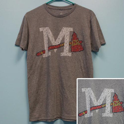 Mississippi Braves Cap Logo Club Tee