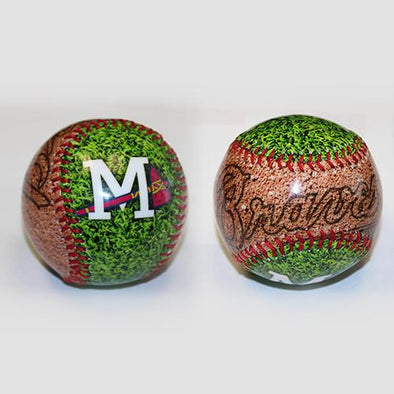 Mississippi Braves MS Dirtball Logo Baseball