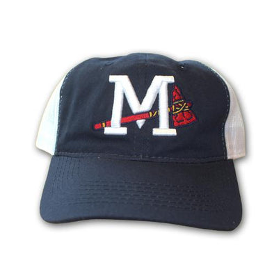 Mississippi Braves Home Navy Trucker