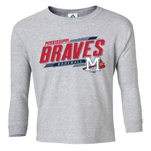 Mississippi Braves Yth LS Fortnite Tee