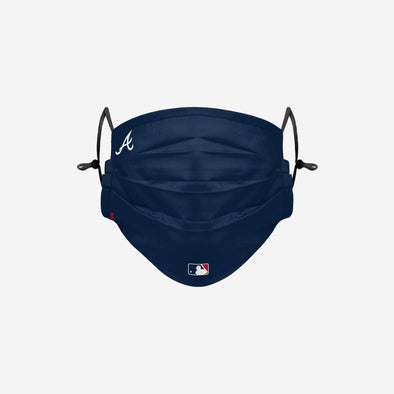 ATLANTA BRAVES ON-FIELD GAMEDAY ADJUSTABLE FACE COVER