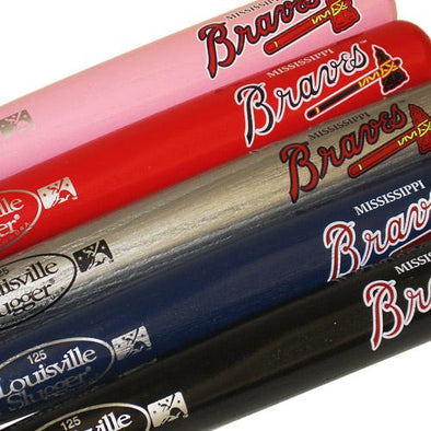Mississippi Braves Mini Bats